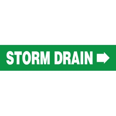 Storm Drain Pipe Markers