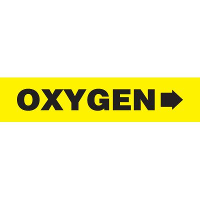Oxygen Pipe Markers
