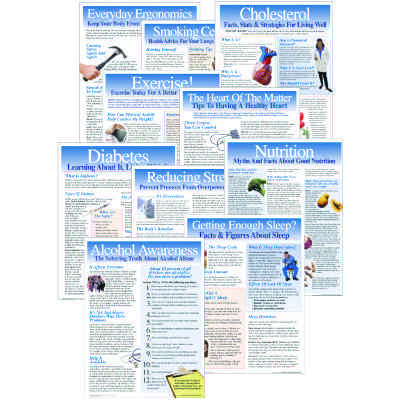 Health And Wellness Poster Pack