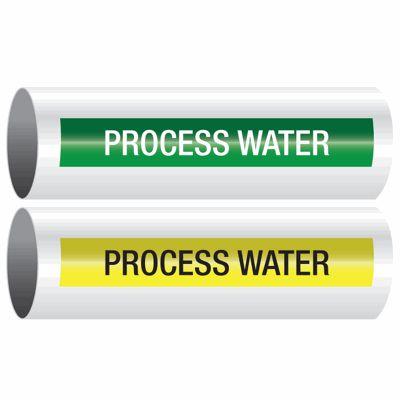 Process Water - Opti-Code™ Self-Adhesive Pipe Markers