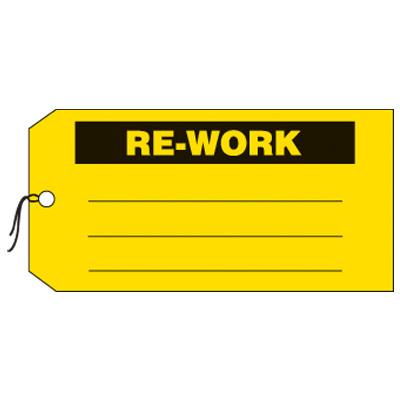 Re-Work Production Status Tags