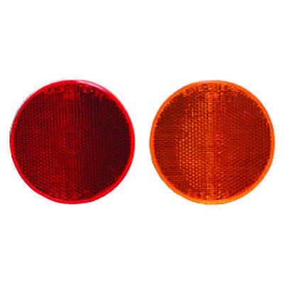 Round Acrylic Reflectors