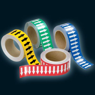 Reflective Pipe Arrow Banding Tape