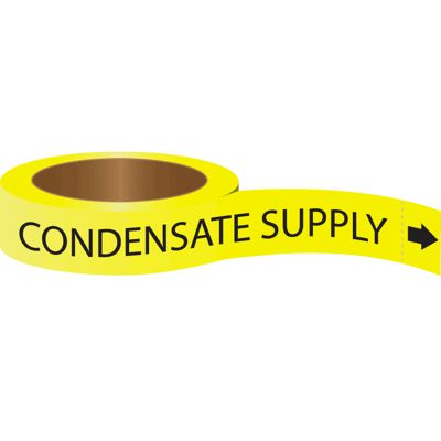 Condensate Supply - Roll Form Self-Adhesive Pipe Markers
