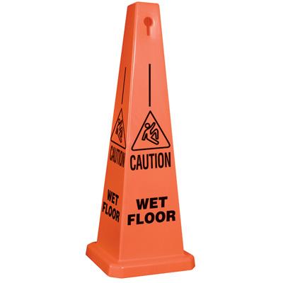 Caution Wet Floor Safety Cone