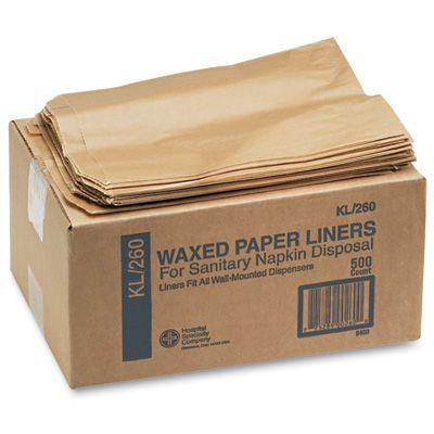 Sanitary Napkin Receptacle Liners  HOS260