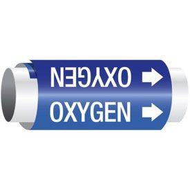 Oxygen - Setmark® Snap-Around Pipe Markers