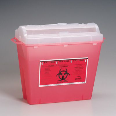 SharpSentinel® Sharps Container - First Aid Only M943