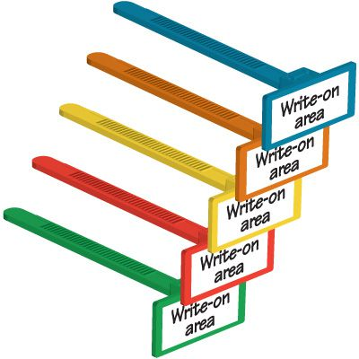 Sidewinder Write-On Cable Ties