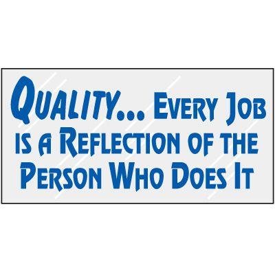 Quality Mirror Label