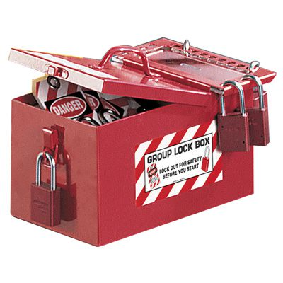 Portable Storage and Group Lockout Box