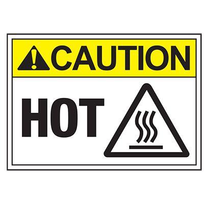 ToughWash® Labels - ANSI Caution