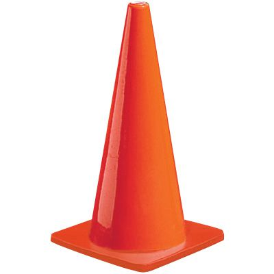 Wide Body Injection Molded PVC Traffic Cones