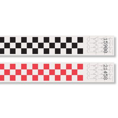 Pattern Tyvek® Wristbands