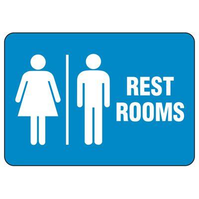 Unisex Restroom Sign