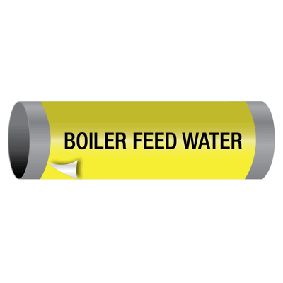Boiler Feed Water - Ultra-Mark® Self-Adhesive High Performance Pipe Markers