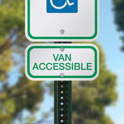 Van Accessible Handicap Parking Sign