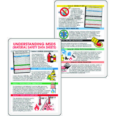 Understanding Material Safety Wallet Card