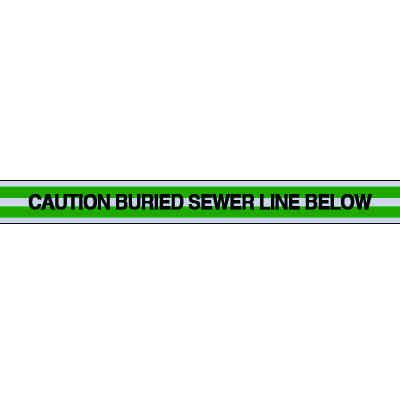 Sewer Line Underground Warning Tape