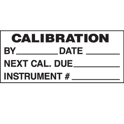Calibration By Status Label