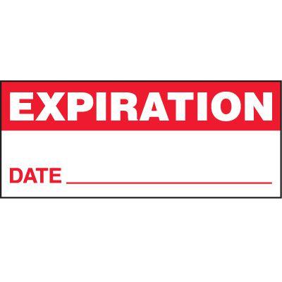 Expiration Status Label
