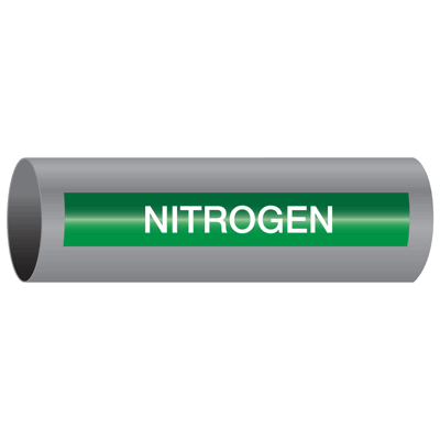 Nitrogen - Xtreme-Code™ Self-Adhesive High Performance Pipe Markers