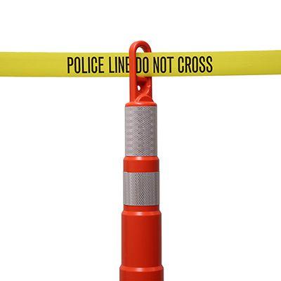 Police Line Indoor Barricade Tape
