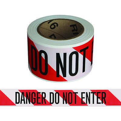 Mini Barricade Tape - Danger Stripe
