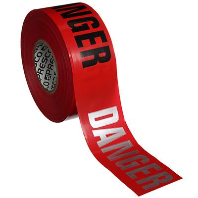 Day Or Night Barricade Tape - Danger - Presco RB3103R21