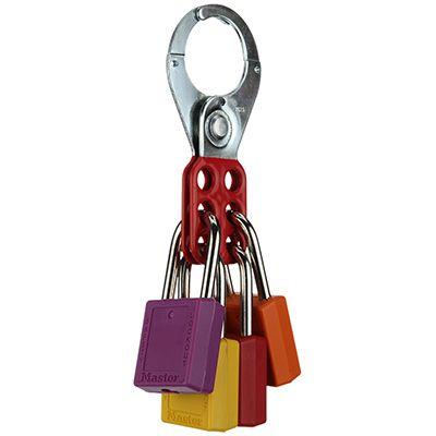 Brady® 65376 Red Lockout Hasps (1-1/2 Diameter Jaws)