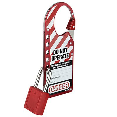 Master Lock® Snap-On Hasp 427