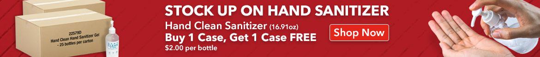 Hand Sanitizer Promo