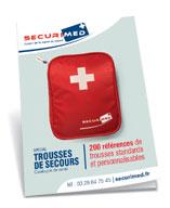 Catalogue de vente Spécial Trousses de secours