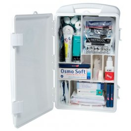Armoire à pharmacie PVC transportable - garnie