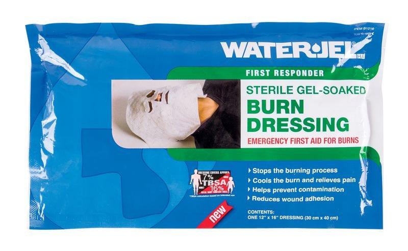 Compresse Water Jel® masque facial brûlure thermique