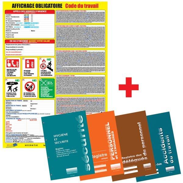 Pack conformité affichage obligatoire et registres