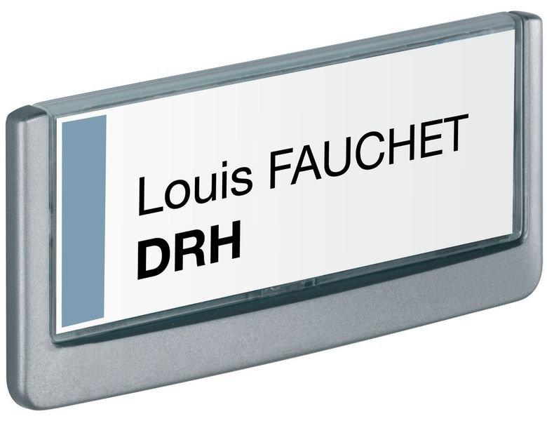 Plaque signalétique de porte - format titre