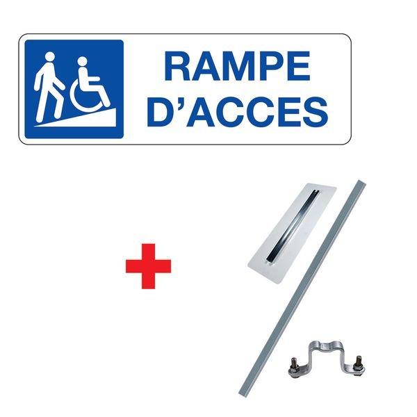 Kit panneau Rampe d'accès handicapés