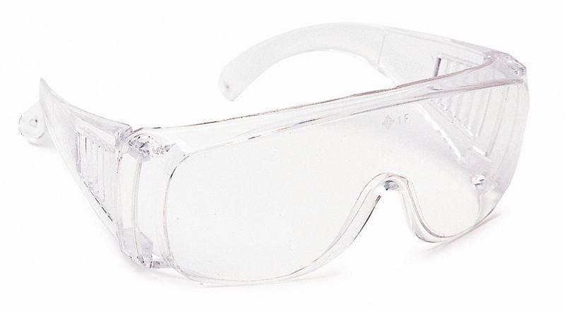 Sur-lunettes de protection visiteurs