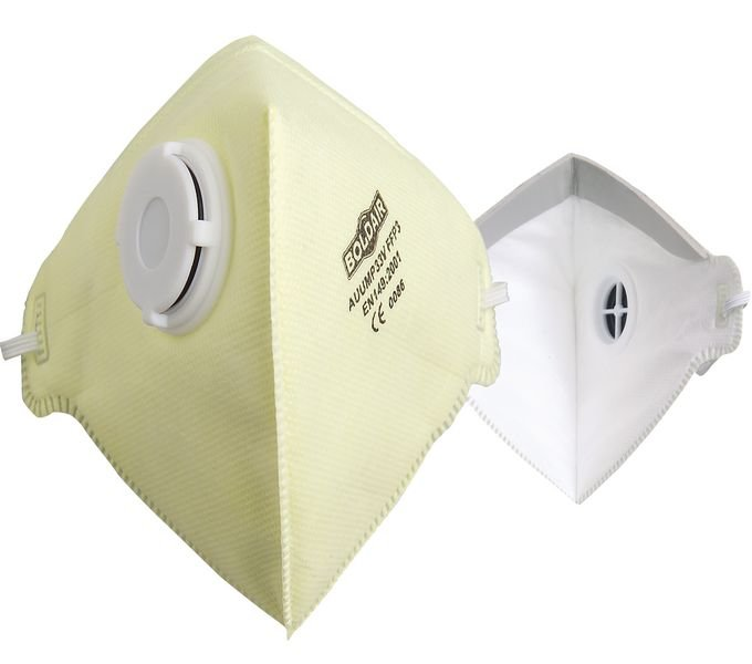 Masque de protection respiratoire classe FFP3