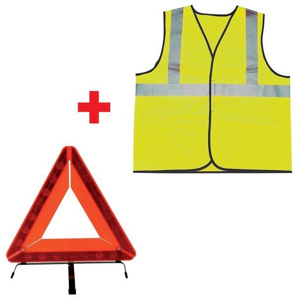 Kit Triangle + Gilet de signalisation
