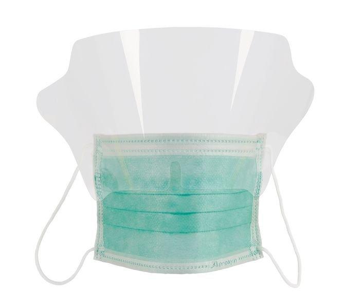 style moderne arrive original à chaud Masque chirurgical haute filtration avec protection visuelle