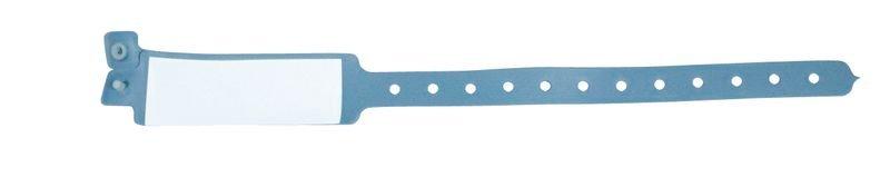 Bracelet médical pédiatrique avec étiquette à insérer