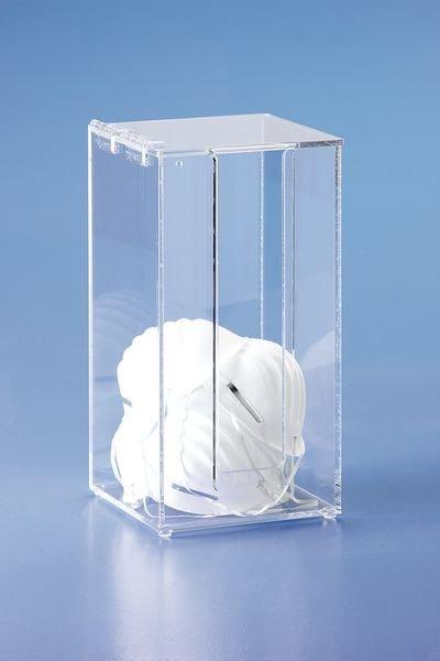Boîte de rangement masques protection