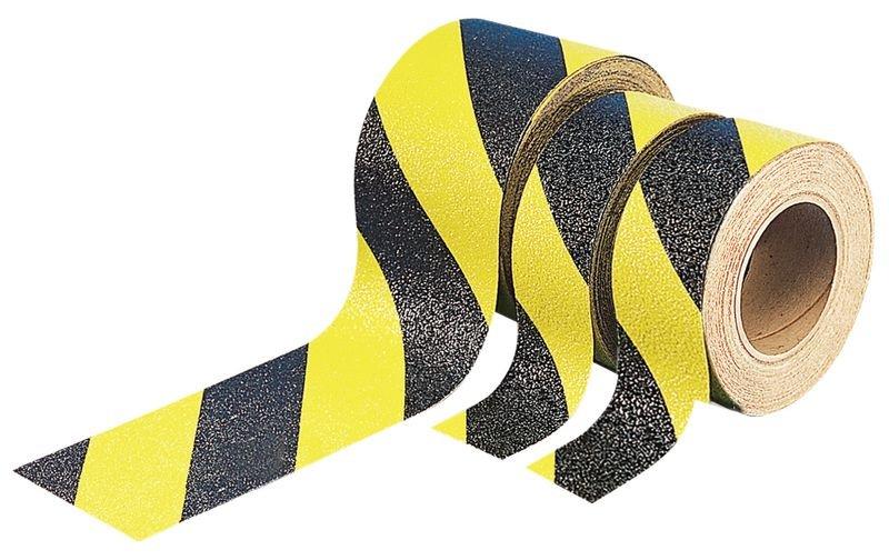 Rouleaux bandes antidérapantes adhésives hachurées