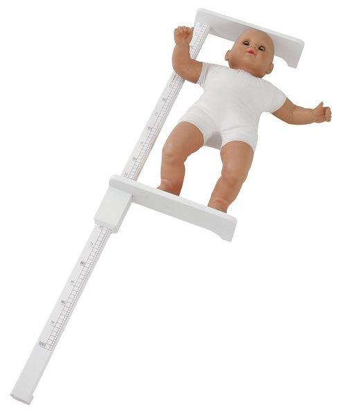 Toises pédiatriques en bois