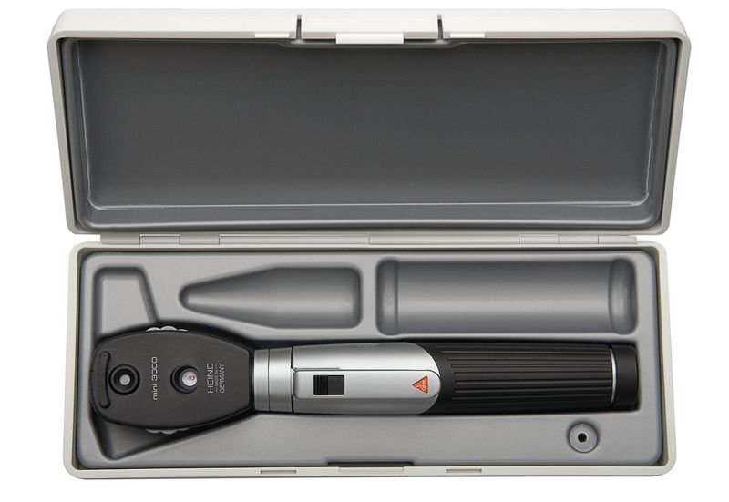 Ophtalmoscope Heine Mini 3000 avec trousse rigide