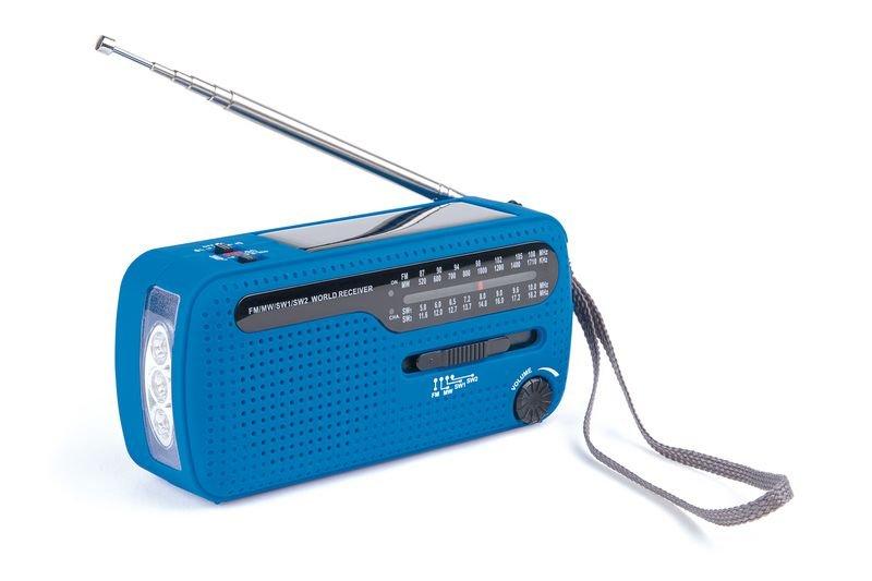 Radio lampe dynamo à piles