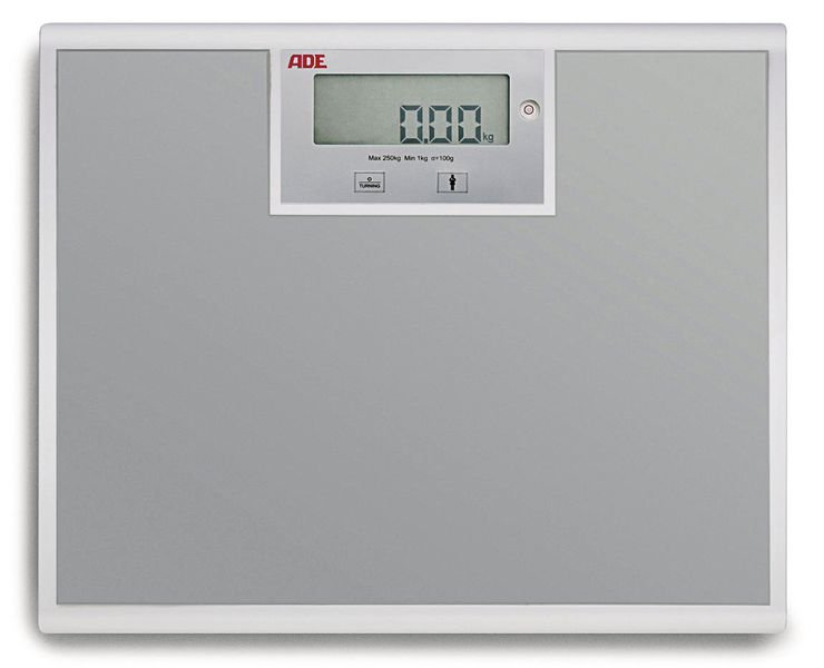 Pèse-personne ADE grand plateau
