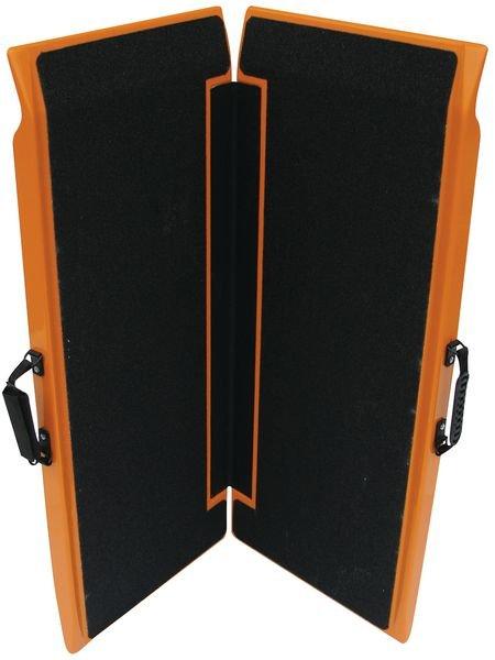 Rampes d'accès pliables noires et orange